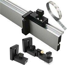 Connecteur de clôture, profilé en Aluminium pour