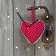 contento Horloge Coeur Pendule Murale De Cuisine