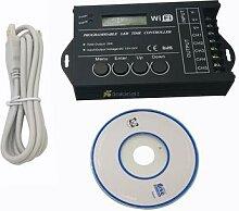 Contrôleur de temps LED wi-fi TC421 DC12 DC24V,
