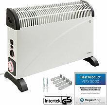 Convecteur avec thermostat, minuteur et turbo 2000