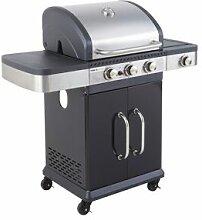Cook'in Garden - Barbecue au gaz FIDGI 3 avec
