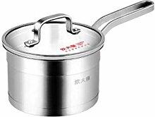 Coolhopy Pot de lait, 304 en acier inoxydable