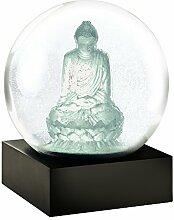 CoolSnowGlobes Boule à Neige Bouddha Cristal