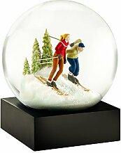 CoolSnowGlobes Boule à Neige Skieurs