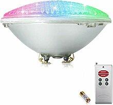 COOLWEST RGB 18W Lampe de Piscine Lumière LED