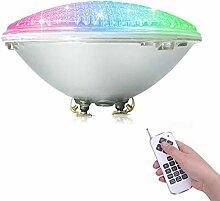 COOLWEST RGB 36W Lampe de Piscine Lumière LED