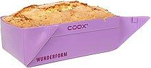 coox Merveilleux moule en forme de S lilas, le