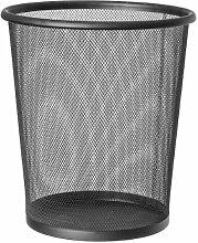 Corbeille à papier 699768 Noire 12L (Refurbished