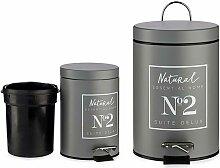 Corbeille à papier Naturel (3000 ml)