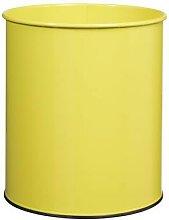 corbeille à papier papéa 30l jaune