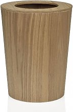 Corbeille de bureau en bois de frêne