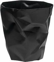 Corbeille design noire