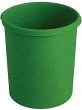 corbeille en plastique 30l vert