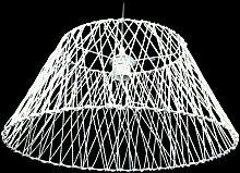 Corep - Suspension Lustre Abat jour tresse corde