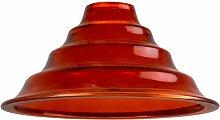 Corep - Suspension orange design vintage Abat jour