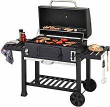 CosmoGrill - Barbecue à charbon, portable -
