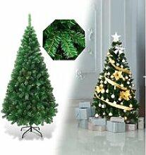 COSTWAY Arbre de Noël Artificiel 210cm Aiguilles