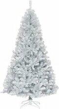 COSTWAY Arbre de Noël Artificiel 225 CM avec 1258