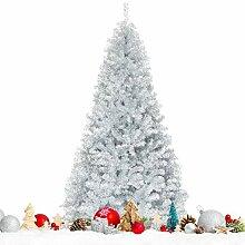Costway Arbre de Noël Artificiel 228 CM avec 1258
