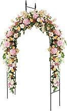 Costway Arche de Jardin 255CM pour Plantes