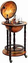 Costway Bar Globe Terrestre Vintage, Mappemonde en