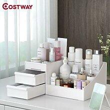 COSTWAY – boîte à cosmétiques de bureau,
