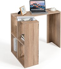 Costway Bureau Informatique en Forme de L Table