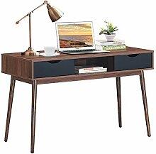 Costway Bureau Scandinave Vintage,Table Console de