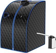 Costway Cabine de Sauna Portable Pliable 3L avec