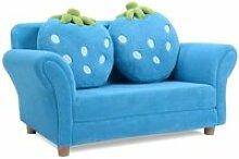 Costway canapé enfant 2 places-fauteuil enfant