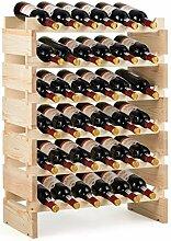 Costway Casier à Vin de 36 Bouteilles, Stockage