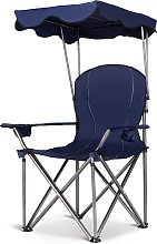 Costway Chaise de Camping Pliante en PVC