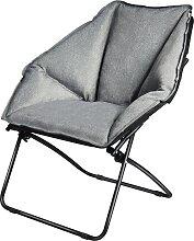 Costway Chaise de Camping Pliante Rembourrée en