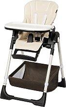Costway Chaise Haute Bébé Pliable pour 0-5Ans