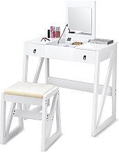 Costway Coiffeuse Table de Maquillage Style