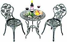 Costway Ensemble Table de Bistrot Table et 2