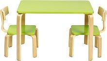 Costway Ensemble Table et Chaise pour Enfant