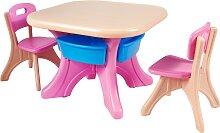 Costway Ensemble Table et Chaises pour Enfant