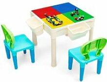 COSTWAY Ensemble Table pour Enfant