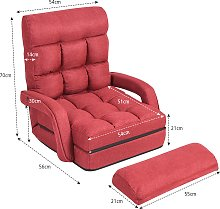 Costway Fauteuil Convertible Chauffeuse