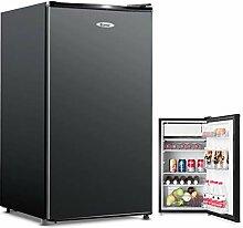 COSTWAY Frigo Combiné Mini Réfrigérateur 91