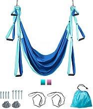Costway Hamac de Yoga Aérien en Nylon Charge Max