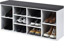Costway Meuble à Chaussures Banc à Chaussures en