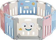 Costway Parc à Bébé et Enfant 12 Éléments