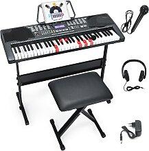 Costway Piano Électrique 61 Touches avec
