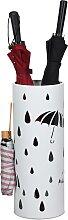 Costway Porte-parapluie Debout en Métal Rond