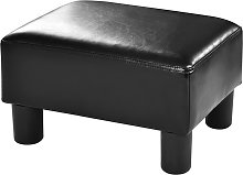 Costway Pouf Assis Cube Repose-Pieds Tabouret