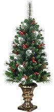 Costway Sapin de Noël Artificiel 120cm avec