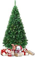Costway Sapin de Noël Artificiel Matériau PVC