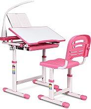 Costway Set Bureau et Chaise pour Enfants avec
